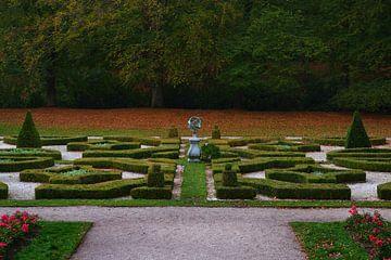 de Hollandse tuin in Clingendael tijdens de herfst van Georges Hoeberechts