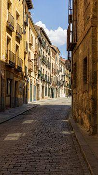 Schöne spanische Straße von Job Moerland
