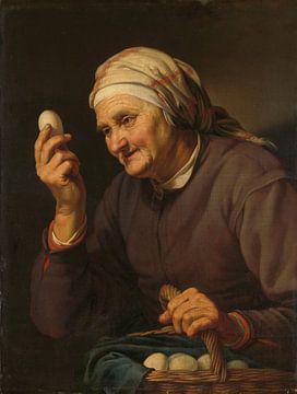 Die Eierhändlerin, Hendrick Bloemaert