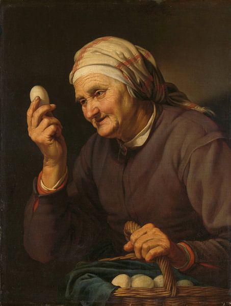 De eierenkoopvrouw, Hendrick Bloemaert van Meesterlijcke Meesters