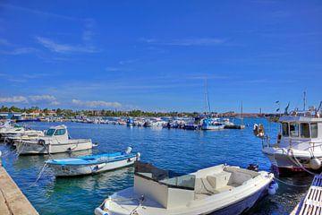 Hafen Umag zur Corona-Zeit