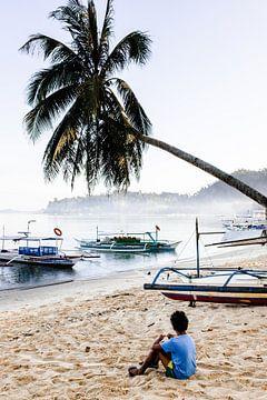 Strand auf den Philippinen von Yvette Baur