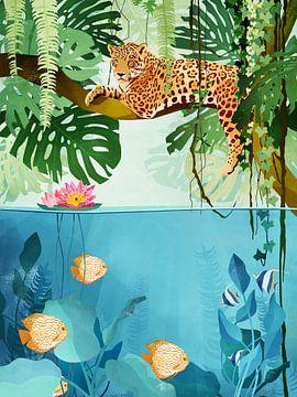 Het Jungleleven sur Goed Blauw