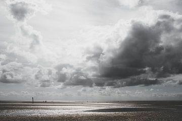 Watt, Wolken und Meer