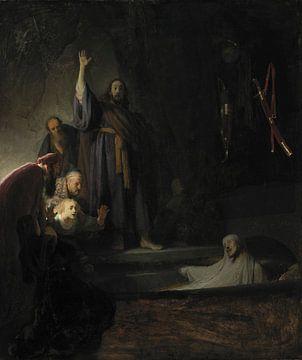 Die Auferweckung des Lazarus, Rembrandt van Rijn