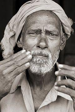 stolzer Mann mit Turban von Affectfotografie
