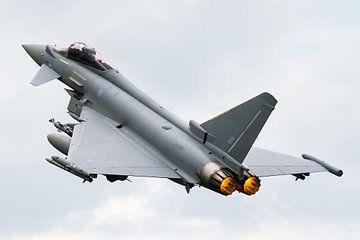 Eurofighter Typhoon gevechtsvliegtuig van Kris Christiaens