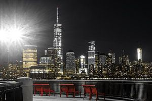 One World Trade Center        New York van