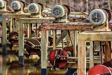 Alte verrostete Industriemaschinen von Fotografiecor .nl