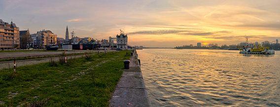 Antwerpen Schelde  van Bob de Bruin