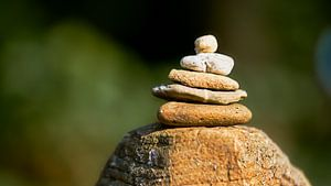 Stenen stapelen von