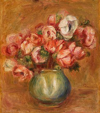 Stilleben Anemonen, Pierre-Auguste Renoir (1907) von Atelier Liesjes