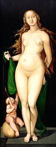 Hans Baldung Grien.Venus und Amor