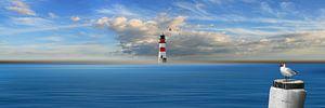 Der Leuchtturm im Mittelpunkt