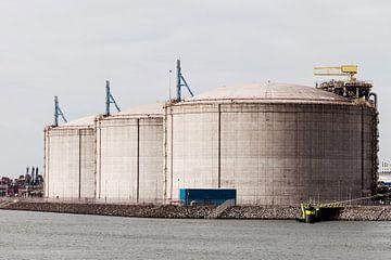 Tank LNG opslag van Irene Hoekstra
