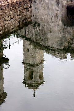 Spiegelbeeld van een kathedraal in Havana von SPOOR Spoor
