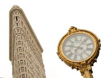 Het Flatiron Building New York van Jack Koning