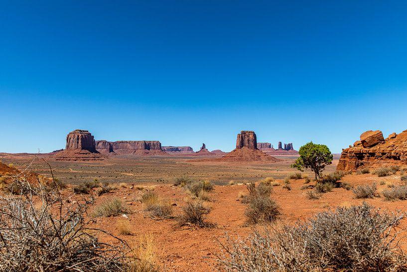 Monument valley - Utah van Martijn Bravenboer