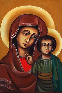 Maria met kind Jezus van