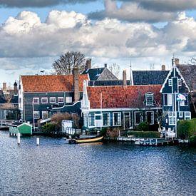 Panorama Zaanse Schans van Lia van Beest