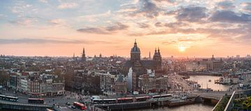 Skyline d'Amsterdam sur Reinier Snijders