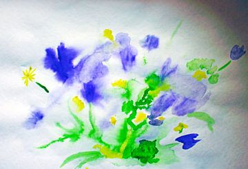 Wilde bloemen van M.A. Ziehr