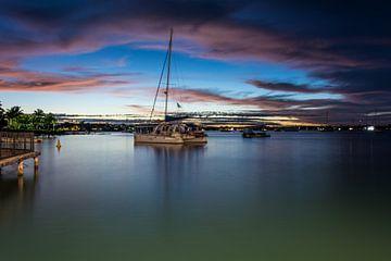 Grand Baie, Mauritius, Abend von Danny Leij