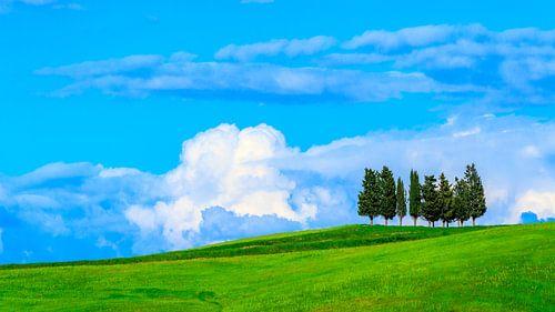 Tuscan hilltop von Teun Ruijters
