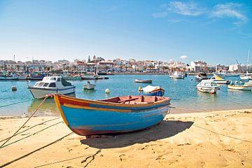 Port de Lagos en Algarve au Portugal sur Nisangha Masselink