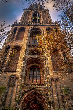 Domtoren in herfstsferen von Verliefd op Utrecht