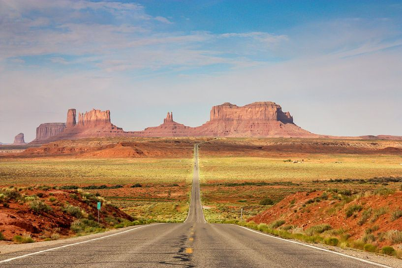 Highway to monument valley van Ilya Korzelius