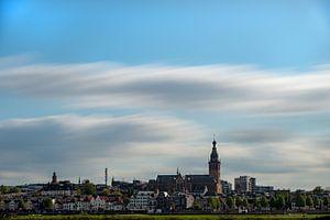 Skyline van Nijmegen van