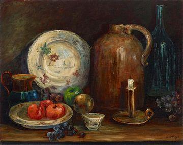 Alice Rose Hadley (Amerikanerin, 1854-1932)~Unbeschriebenes Stillleben