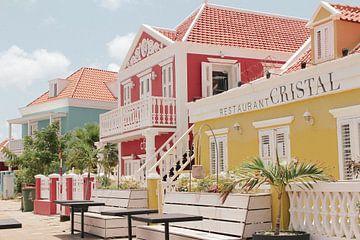 Kolonialbauten Willemstad Curacao von yourtravelreporter