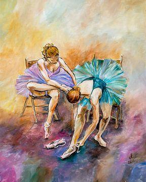Balletmeisjes van Angelique van den Berg