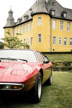Lamborghini Urraco italien 1970 voiture de sport classique sur Sjoerd van der Wal