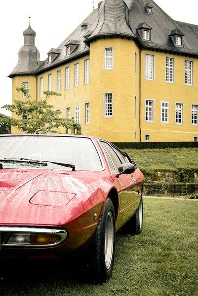 Lamborghini Urraco Italiaanse klassieke sportwagen uit de jaren '70 van Sjoerd van der Wal