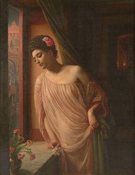 Edward Poynter, Asteria - 1904 von Atelier Liesjes