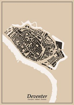 Vestingstad - Deventer van Dennis Morshuis