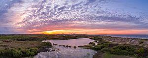 Vuurtoren Eierland Texel prachtige zonsondergang