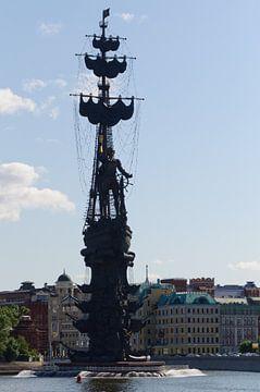 monument Peter de Grote  van Robert Lotman