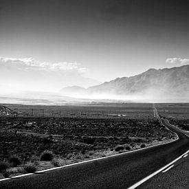 Sandstorm on the highway sur Ricardo Bouman
