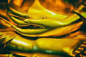 Buddha Handen van Aad Clemens