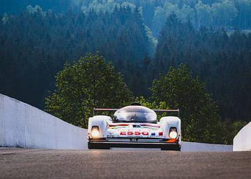Peugeot 905 Spa Francorchamps op Spa Classic van Bob Van der Wolf