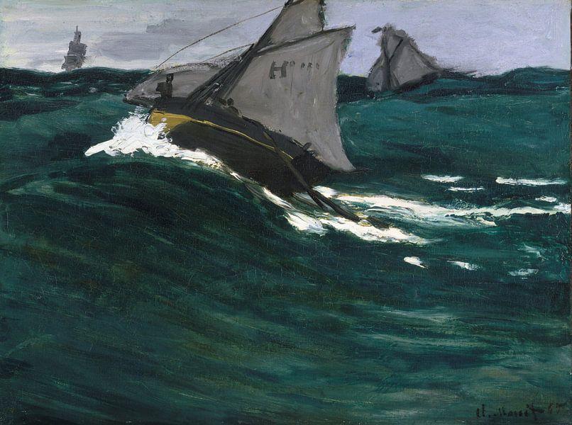 The Green Wave, Claude Monet van Meesterlijcke Meesters