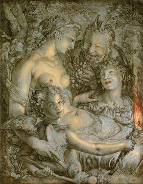 Hendrick Goltzius. Venus, 1603 sur