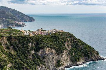 Corniglia in Cinque Terre van Easycopters