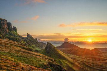 Sonnenaufgang im Quiraing von Lars van de Goor