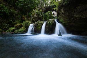 De Schiessentumpel waterval in Luxemburg