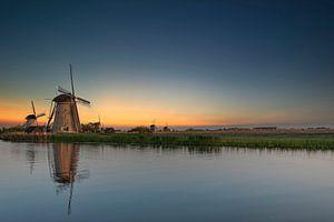 Windmolen Kinderdijk van Rinke van Brenkelen